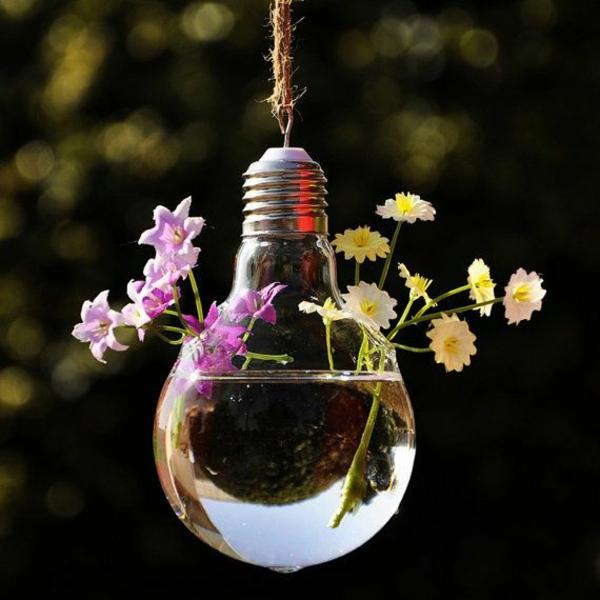 lampe-glühbirnenform-diy-deko-niedlich-blumen
