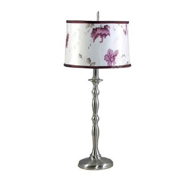 lampen und leuchten moderne tischleuchten tischlampe blumenmuster lila