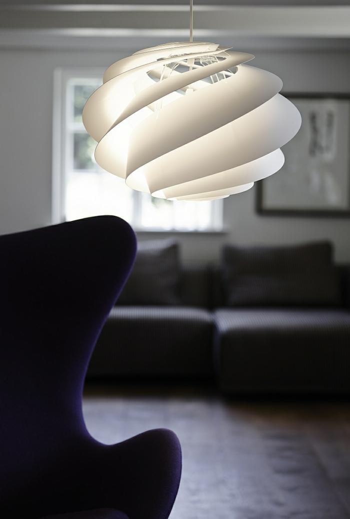 designer leuchten - pendelleucheten mit spiralförmigem design