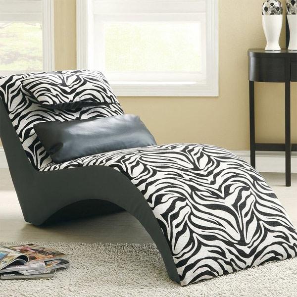 Designer liegesessel f r ihren komfort im schlafzimmer - Stuhl zebramuster ...