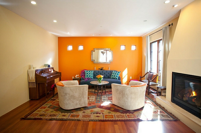 33 marokkanische Wohnzimmer, Möbel und Wandlampen