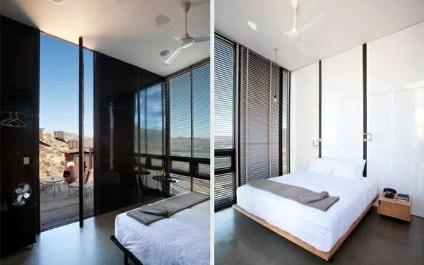 mini bungalow aus holz innendesign schlafzimmer ideen ausgefallene hotels