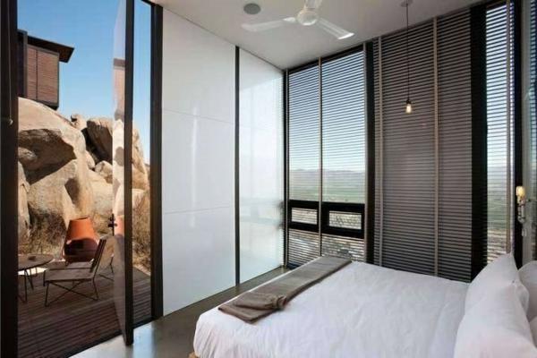 mini bungalow holz innendesign ausgefallene hotels Endemico Resguardo Silvestre
