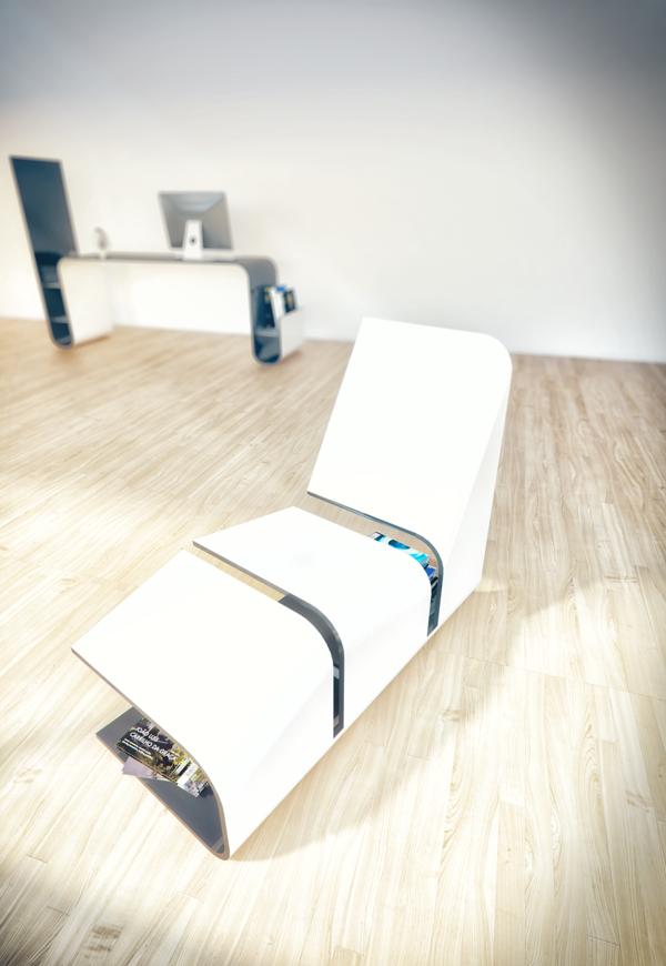 minimalistische einrichtung designer möbel stühle