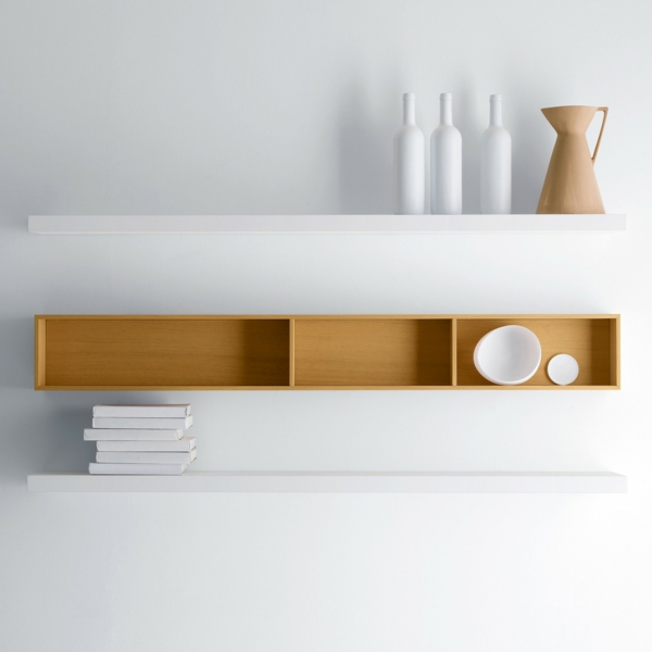modern wandregal design art holz