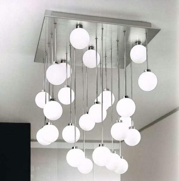 moderne design Deckenleuchten kugel leuchtend