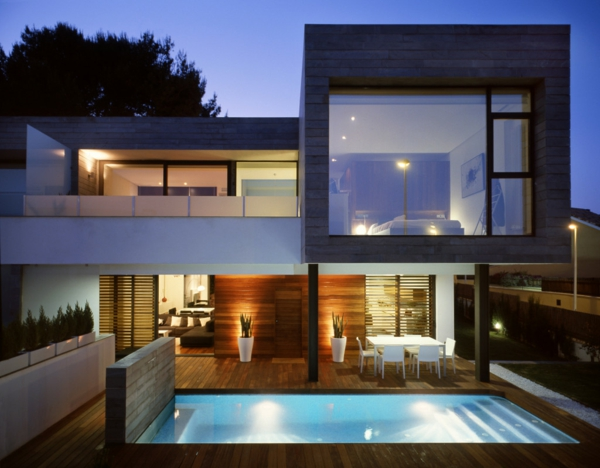 Architektenhaus Innen moderne architektur in der prärie häuser mit nachhaltigem design