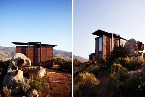 moderne architektur holzbungalow fertighaus gracia studio Endemico Resguardo Silvestre