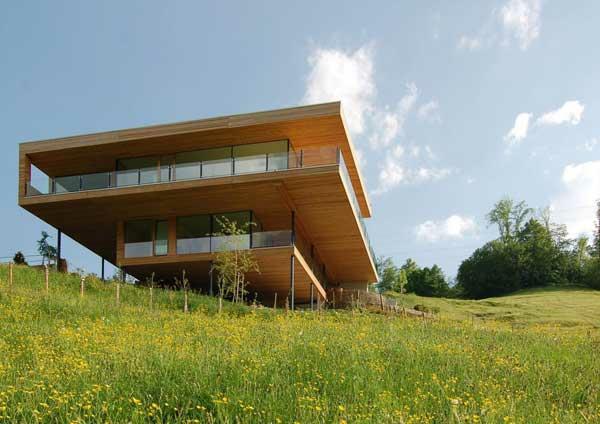 moderne architektur modernes prärienhaus nachhaltige architektur