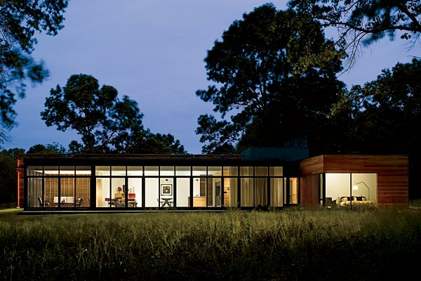 Moderne Architektur Wilde Natur Modernes Haus Prärienhaus