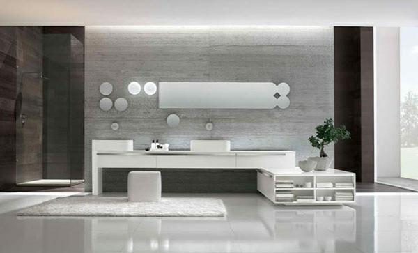 moderne badezimmer badmöbel altamarea designer badezimmermöbel set