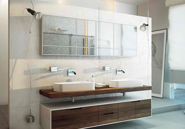 Modern Double Bathroom Vanities