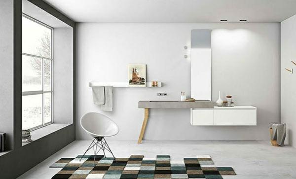Design badmöbel  Design Badmöbel: Design badmöbel vollholz weiß hochgl mit ...