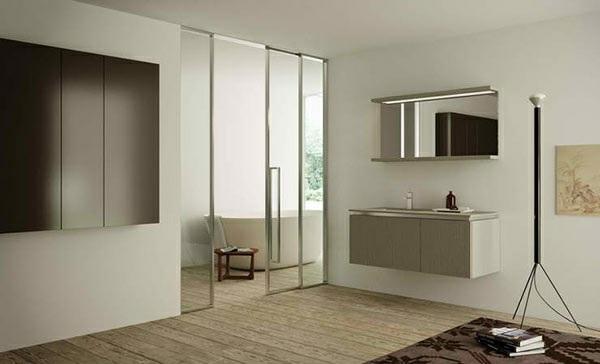 moderne badezimmer möbel altamarea badmöbel design wandspiegel unterschrank