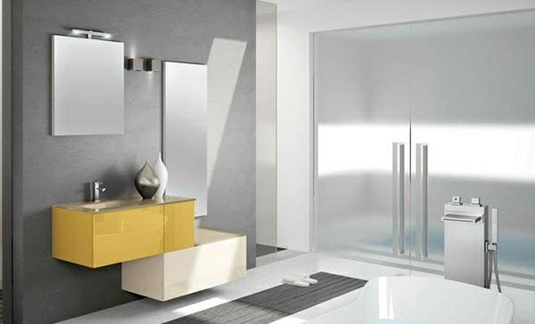 moderne badezimmer möbel altamarea wandspiegel schränke badewanne armatur