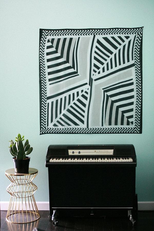 moderne dekoartikel wandtattoo minzgrün