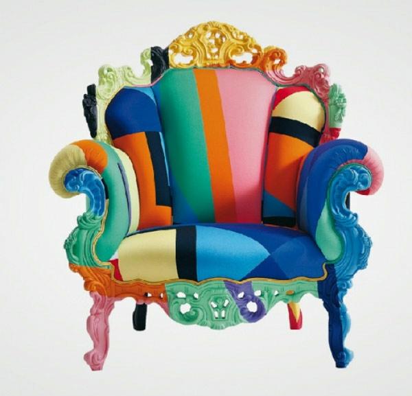 moderne designer stühle thronstühle mehrfarbig
