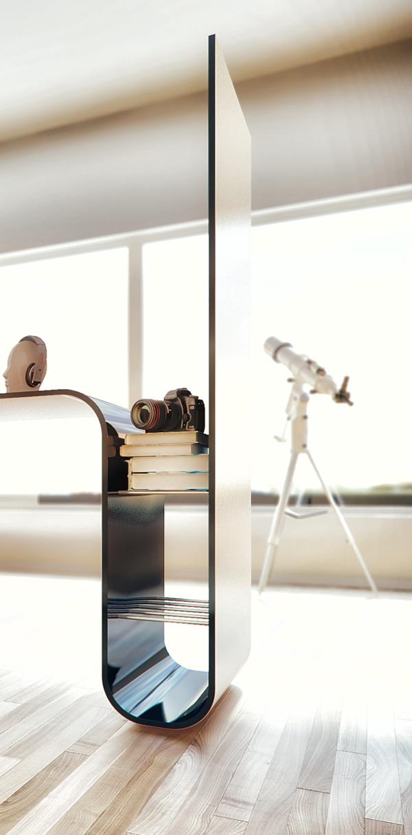 Moderne Einrichtung Designer Möbel Stauraum
