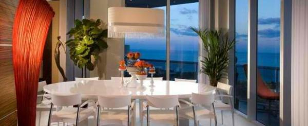 moderne esszimmer esstisch mit stühlen komplett weiß