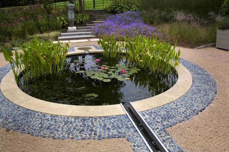 Gartenteich Bilder Beispiele | Möbelideen
