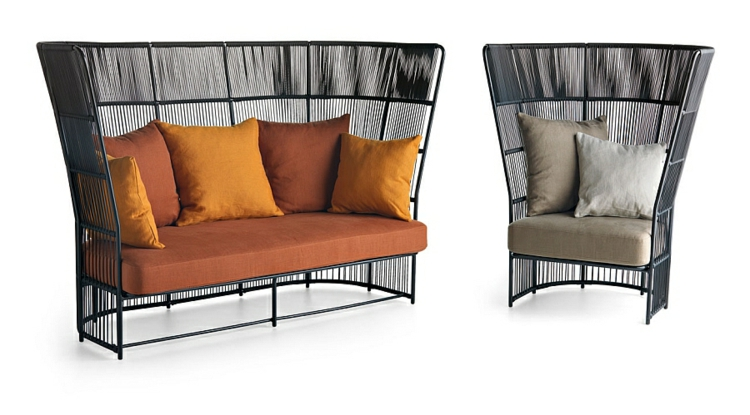 outdoor lounge m bel mit italienischem design. Black Bedroom Furniture Sets. Home Design Ideas