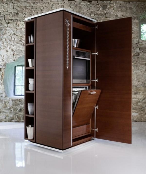 modul küchenmöbel designideen küche holzmöbel spülmaschine