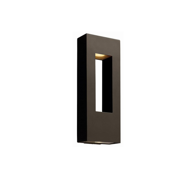 moderne wandleuchten schwarz rechteckig gartenbeleuchtung