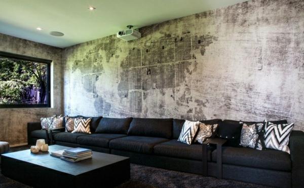 Boden Und Wandgestaltung In Weis Modern Haus Boden Und