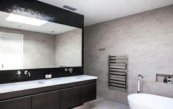 modernes haus neuseeland moderne badezimmer möbel freistehende badewanne