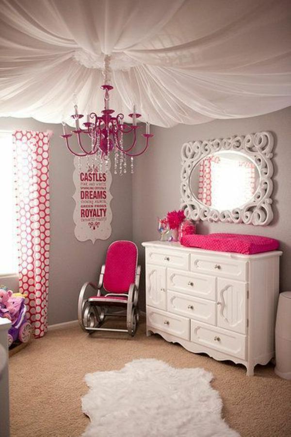 kinderzimmer deckenlampe - designideen für tolle deckenbeleuchtung - Kronleuchter Kinderzimmer Weis
