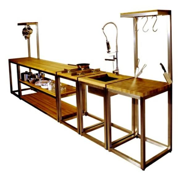 modulküchen designideen küche holzmöbel