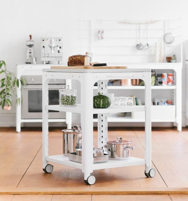 modul küchenmöbel küche modern beistelltisch