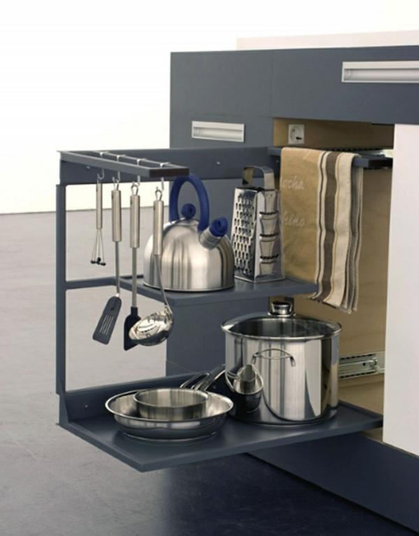 modulküchen designideen küche tiefe schubladen