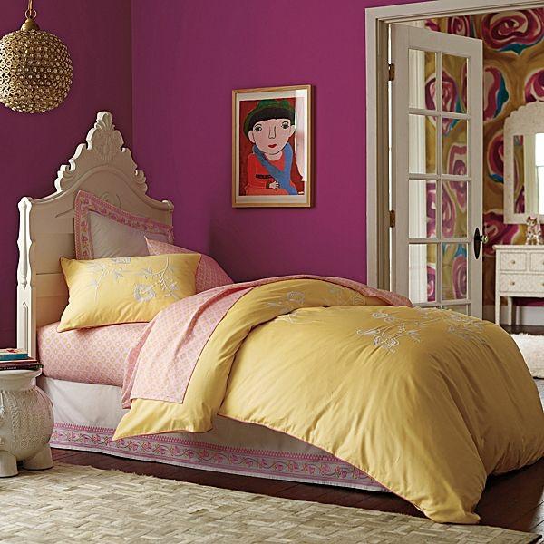 design orientalisches schlafzimmer ideen bett teppich