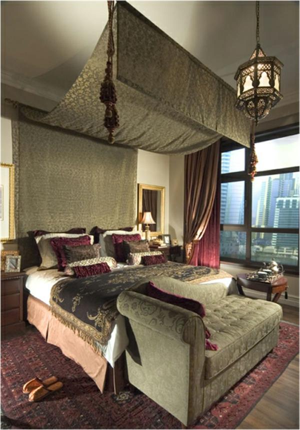 orientalisches schlafzimmer gestalten - wie im märchen wohnen, Haus Raumgestaltung