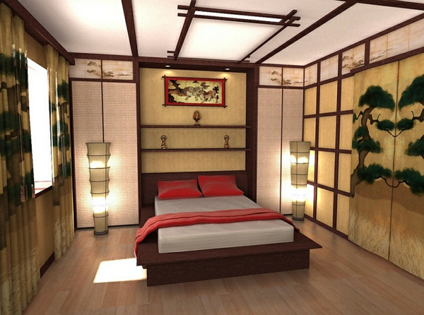 orientalisches schlafzimmer gestalten - wie im märchen wohnen, Schlafzimmer