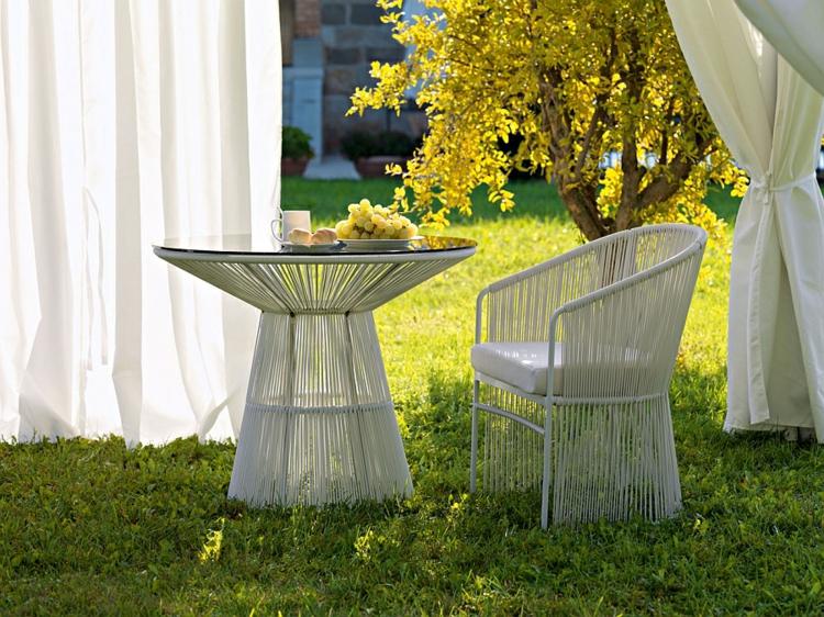 outdoor lounge möbel tibaldo kolektion designer möbel couchtisch sessel