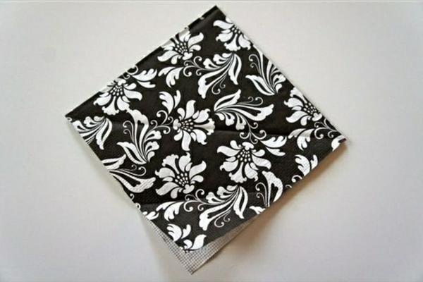 papierservietten falten tischdeko dekoartikel servietten falten anleitung