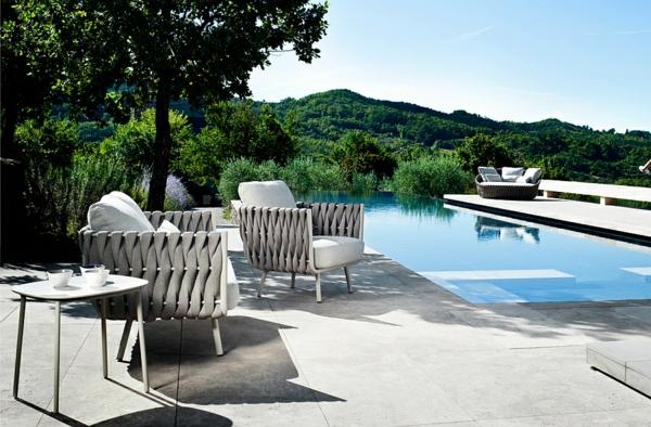 patio lounge möbel outdoor moderne sessel
