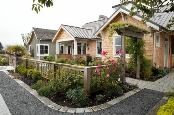 Vorgartengestaltung ideen kreative designideen f r ihr for Garteneingang gestalten