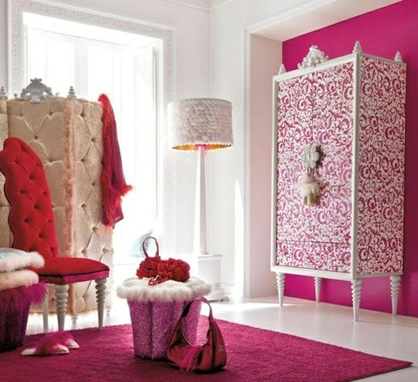 Begehbarer kleiderschrank rosa  Ankleidezimmer planen - Walk-In Garderobe mit Stil gestalten