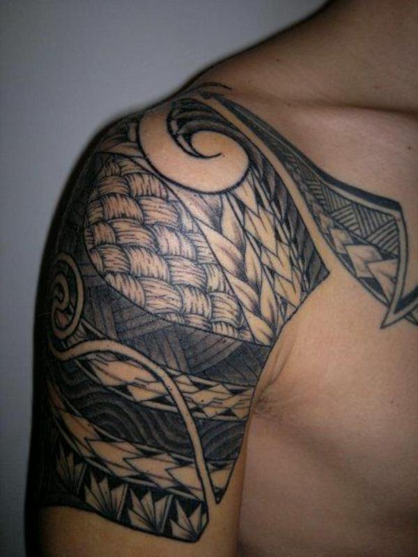 Polynesische Tattoos haben einen tiefen Sinn