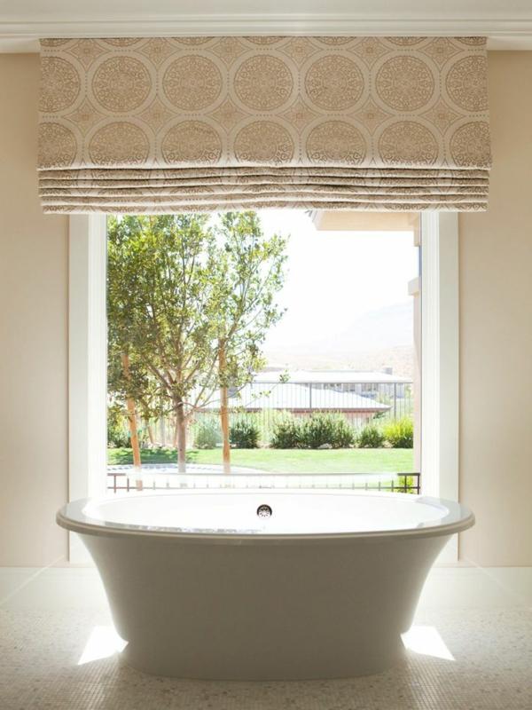 Door window treatments window treatment ideas for french doors - Faltrollo N 228 Hen Wie Kann Man Ein Raffrollo Selbst Basteln