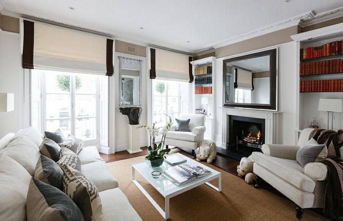 Raffrollos - praktischer Fenster Sichtschutz für ihr Zuhause