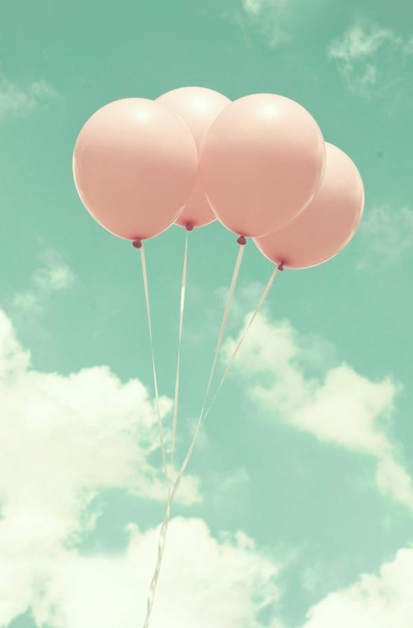 art dekotapete tapeten design luftballons muster