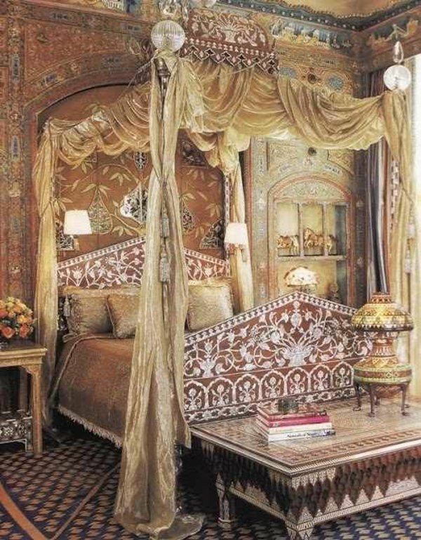 Orientalisches Schlafzimmer gestalten - wie im Mu00e4rchen wohnen