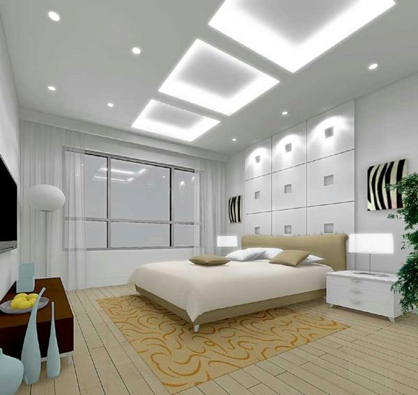 schlafzimmer einrichten deko ideen beleuchtung indirekt gestalten