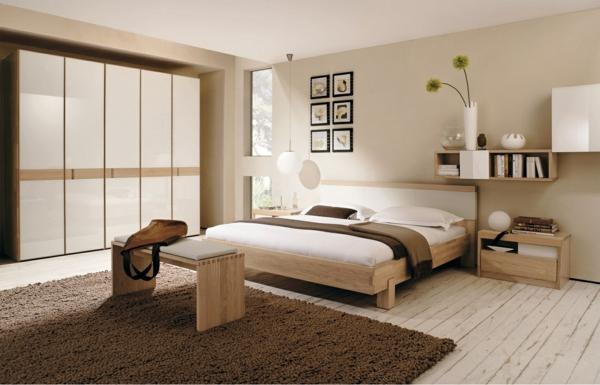 Schlafzimmer Wandgestaltung 77 Ideen Zum Einrichten Deko ...