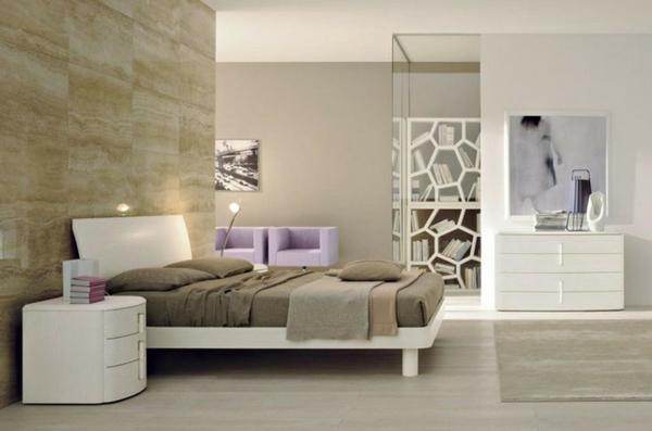 schlafzimmergestaltung und wandfarben - charme und luxus zu hause - Schlafzimmer Ideen Hell