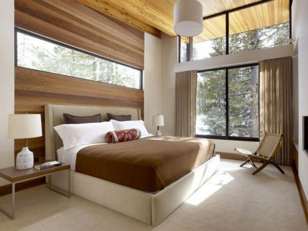 schlafzimmer moderne schlafzimmer holz schlafzimmergestaltung und wandfarben charme und luxus zu hause - Schlafzimmer Modern Aus Holz